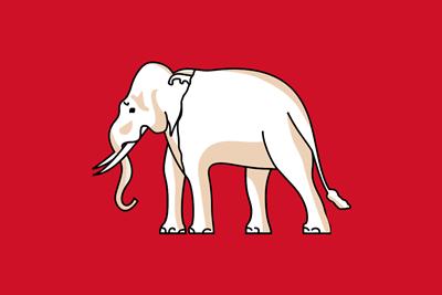 Drapeau de la Thailande 2